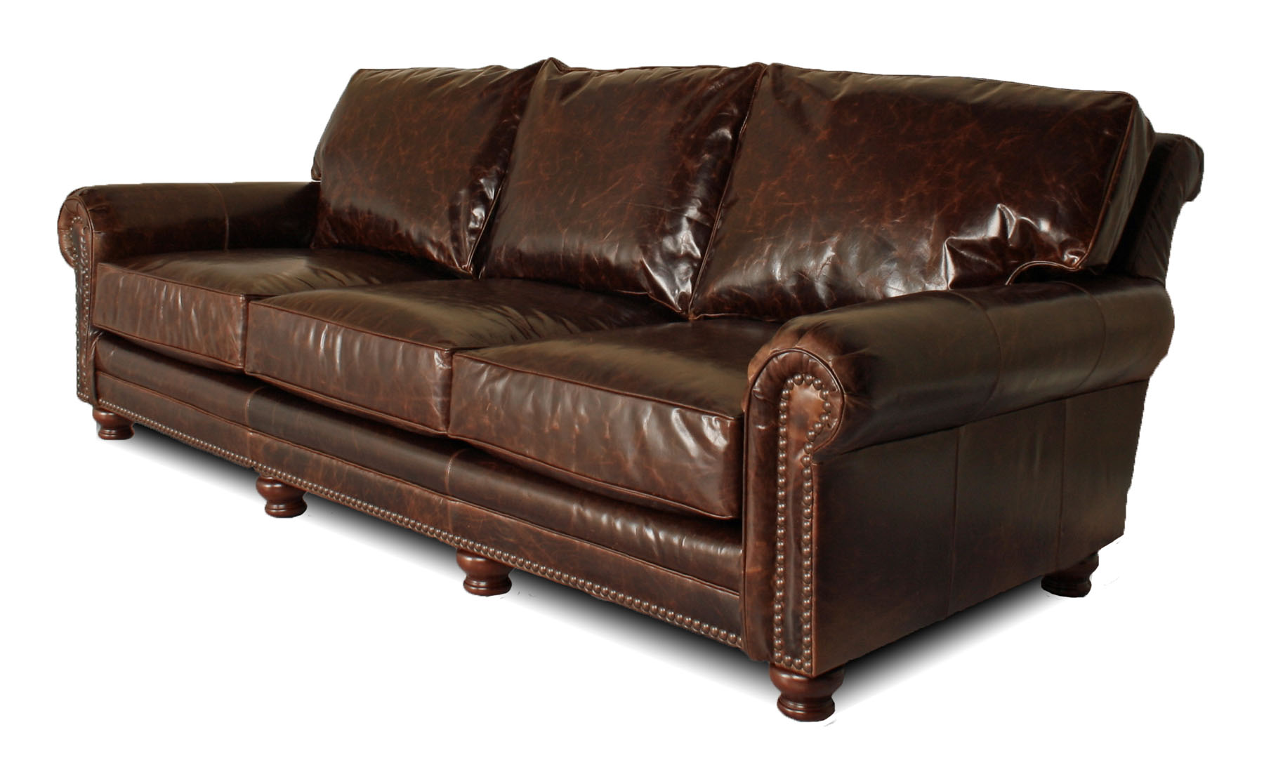 Kingston deep leather furniture for Leather furniture