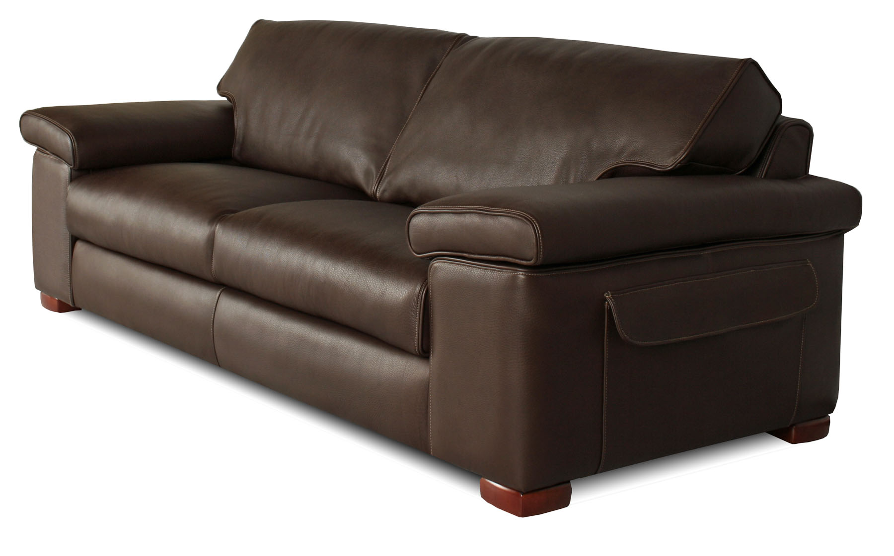 Couture custom leather sofa for Unique leather sofas