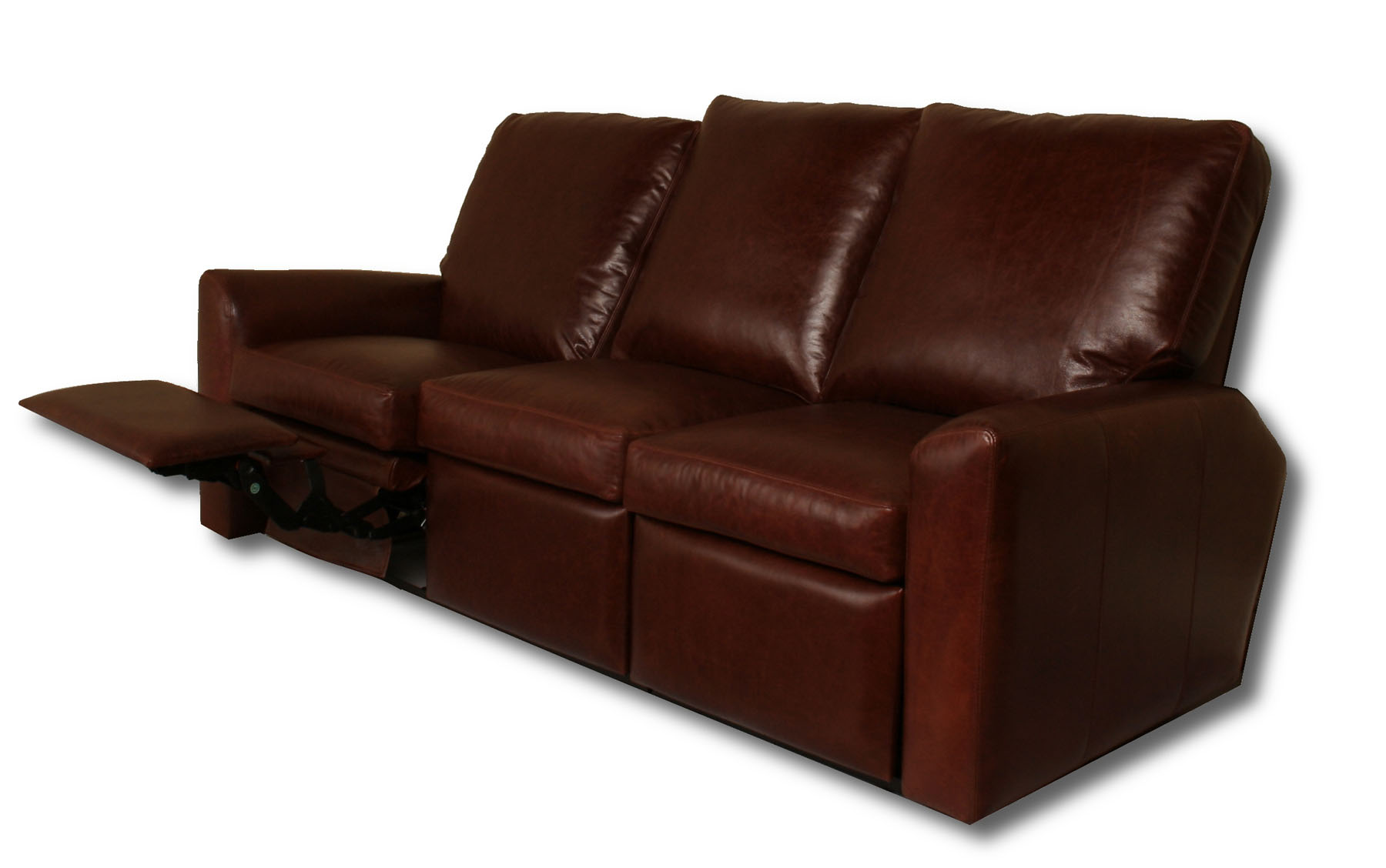 Addison Reclining Leather Sofa Leather Creations Furniture  ~ Leather Sofa And Recliner