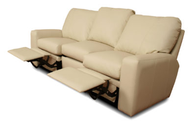 Benz U2013 Reclining Leather Sofa