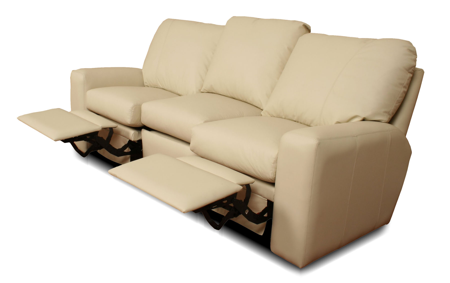 Benz - Reclining Leather Sofa | Leather Creations Furniture - Custom ...