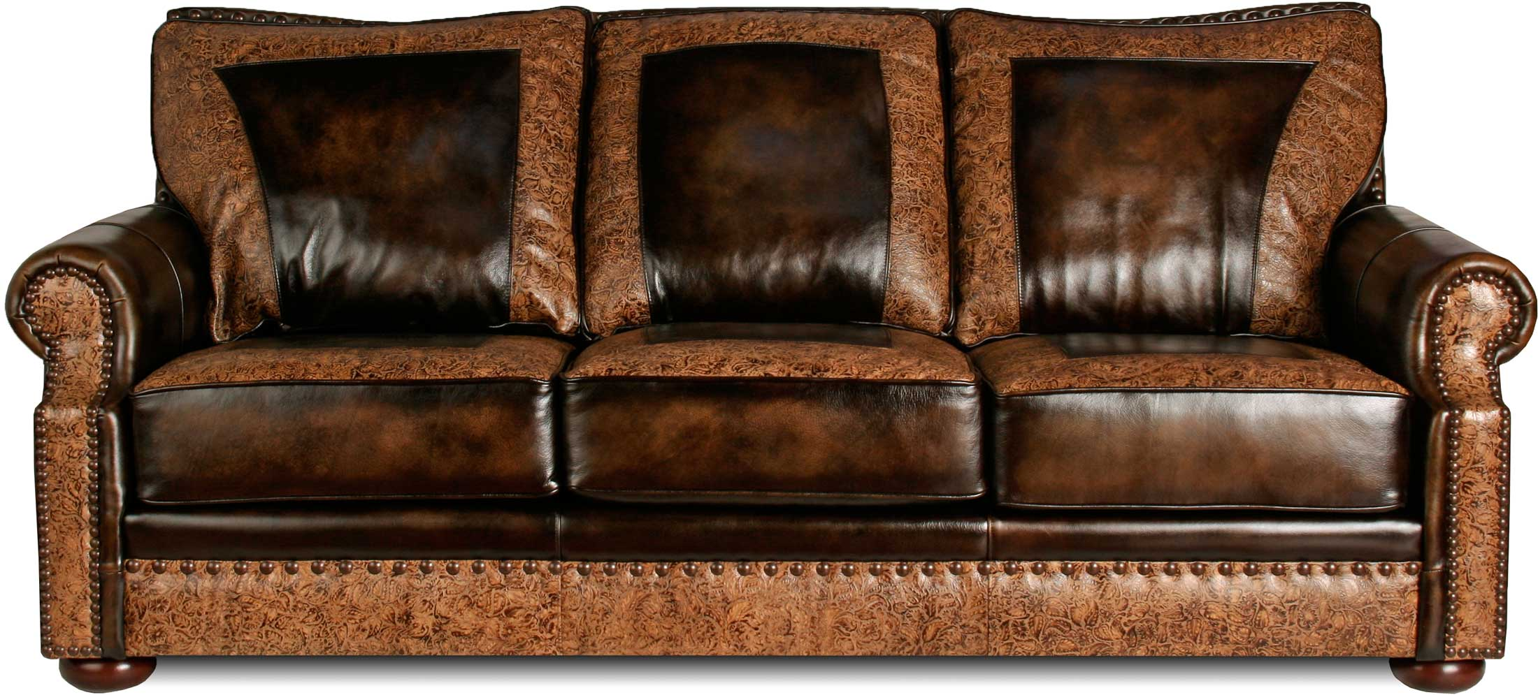 Texas leather furniture for Furniture leather sofa