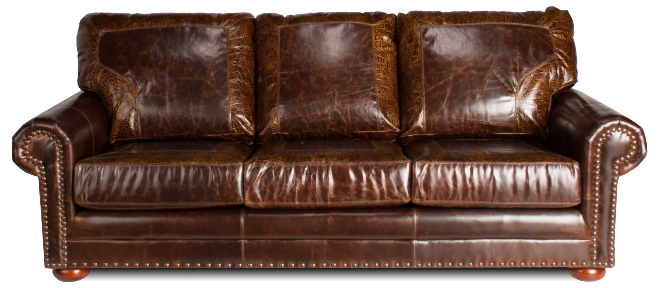 Austin Leather Sectional