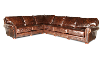 Deep Leather Sectionals
