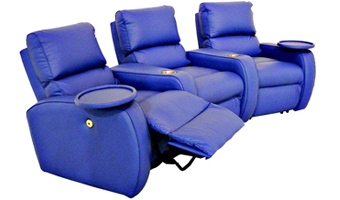 Leather Home Theater