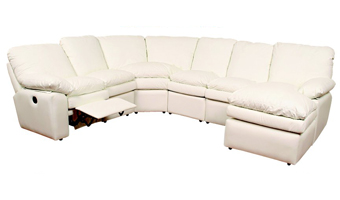 Reclining Leather Sectionals