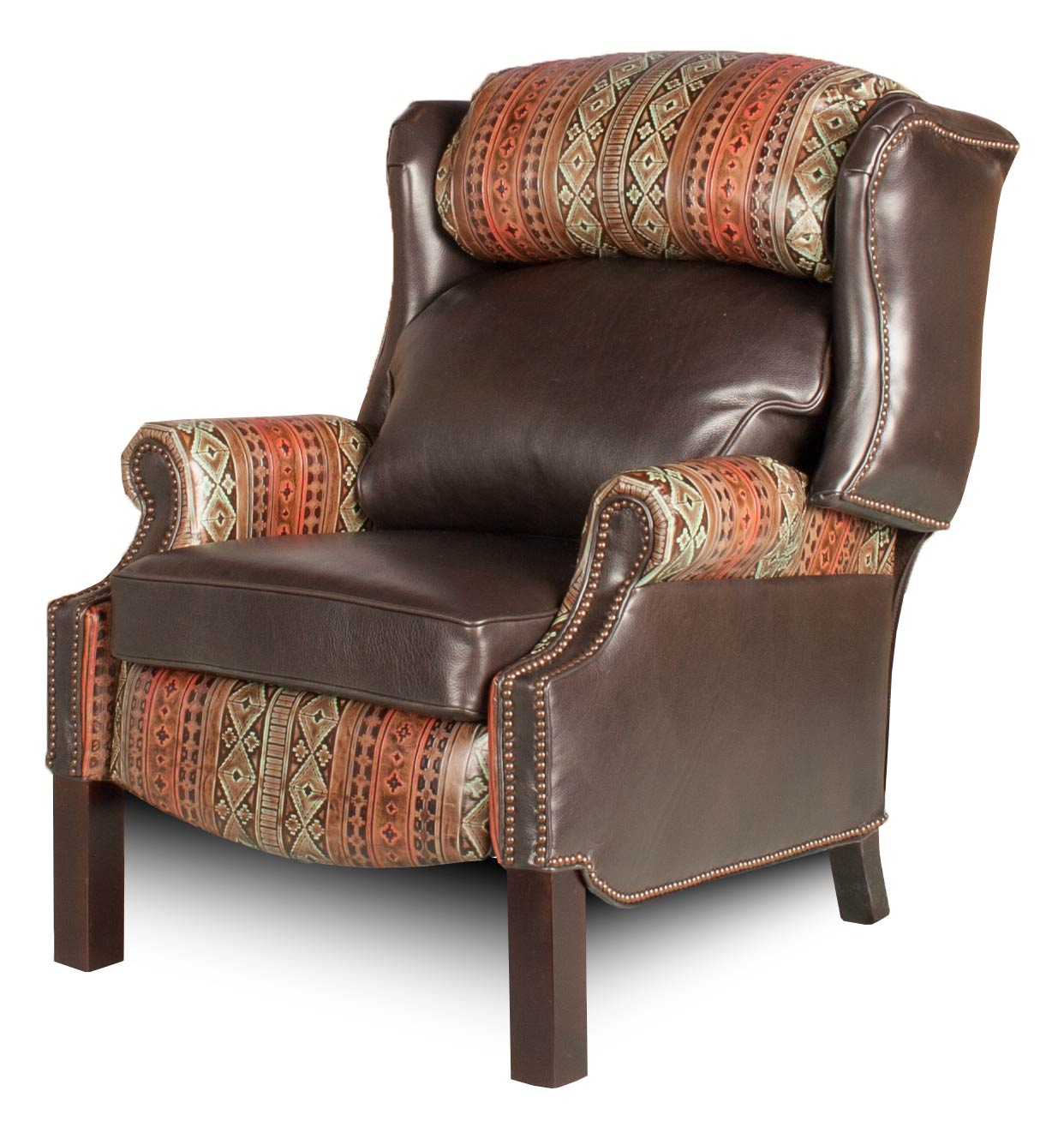 Wingback Recliner Hill Country Collection