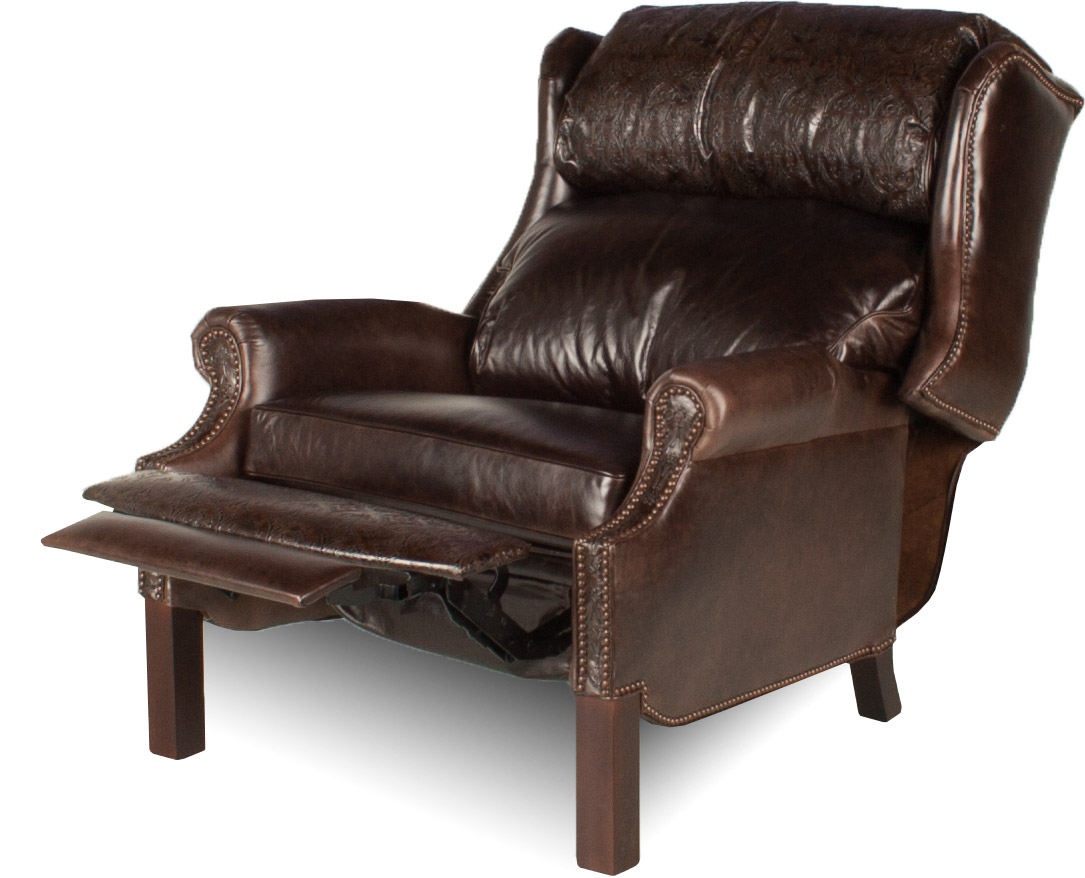 Expand Wingback XL Leather Recliner