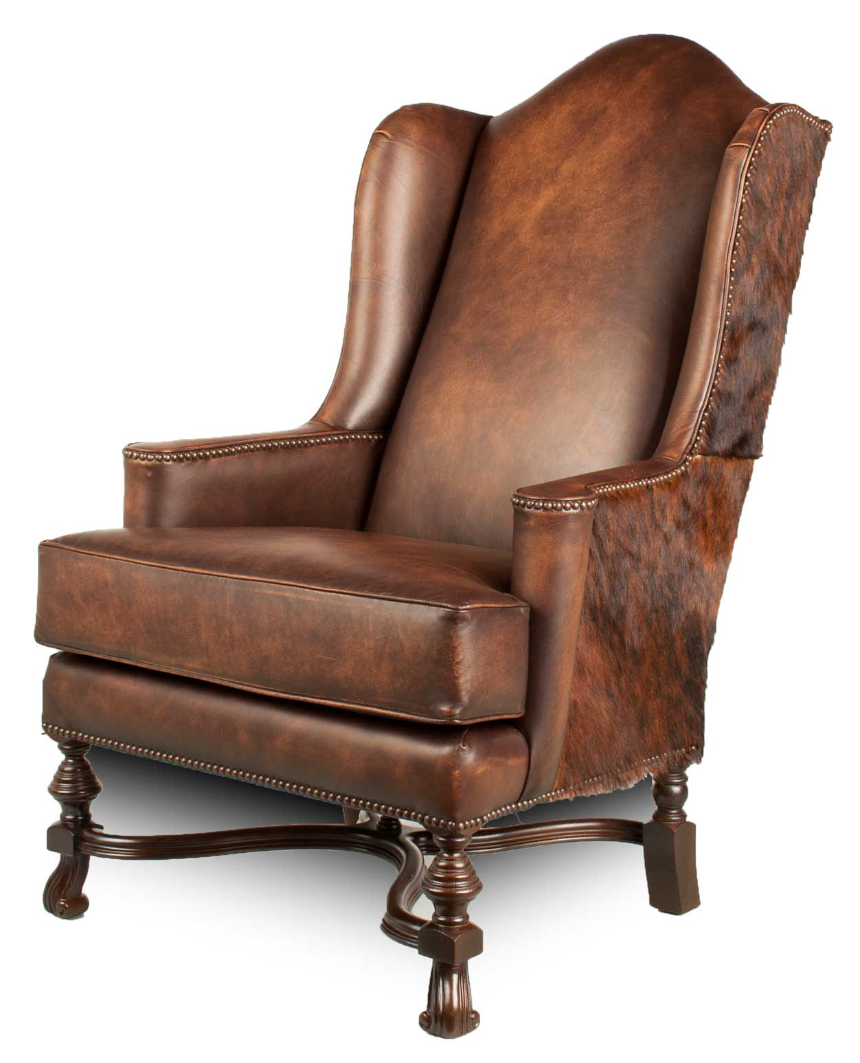 Kings Ranch Lounge Chair Leather Creations Furniture Custom In Atlanta Austin Chicago