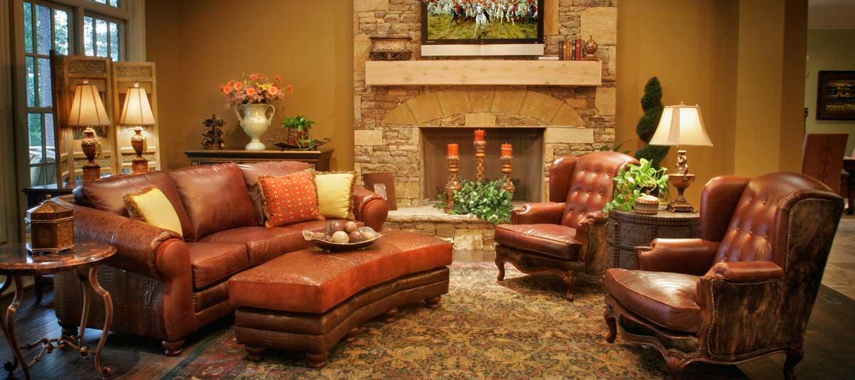 Top Grain Leather Furniture, Grain Leather Sofa