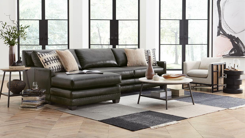 Surprising Custom Leather Furniture In Atlanta Austin Chicago Theyellowbook Wood Chair Design Ideas Theyellowbookinfo