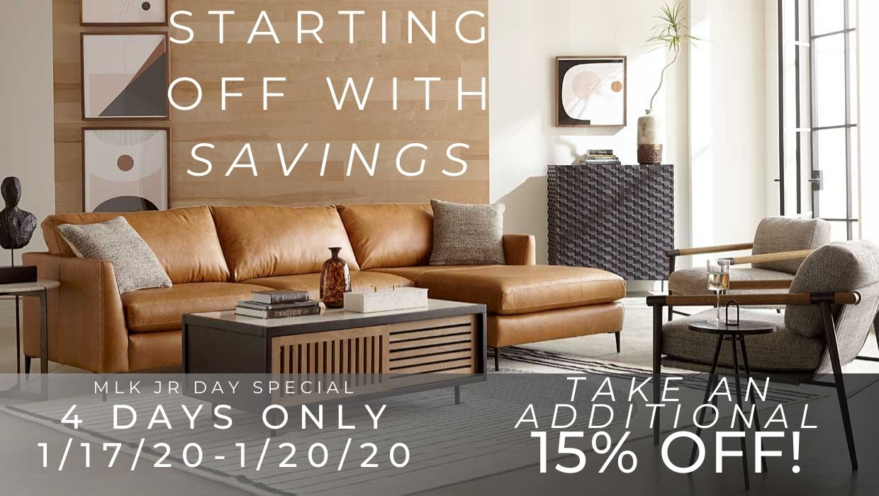 Custom Leather Furniture Promotion